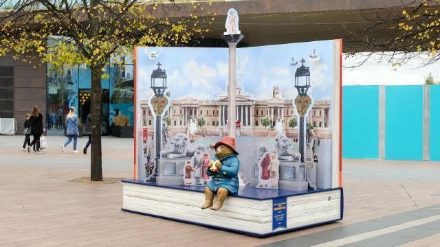 Trafalgar Square Pop-Up Book at Greenwich Peninsula - visitlondon.com