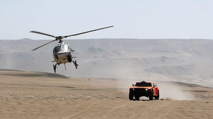 El papel de los helicópteros en los rallys