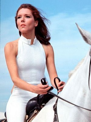 Diana Rigg = Tracy di Vicenzo, James Bond Girl - On Her Majesty's Secret Service…
