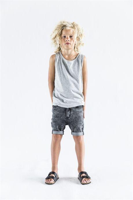 Levi singlet grey melange