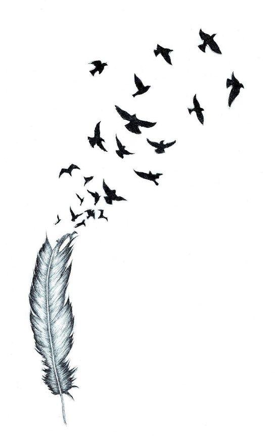 улетающие птицы тату картинка оставим все ошибки