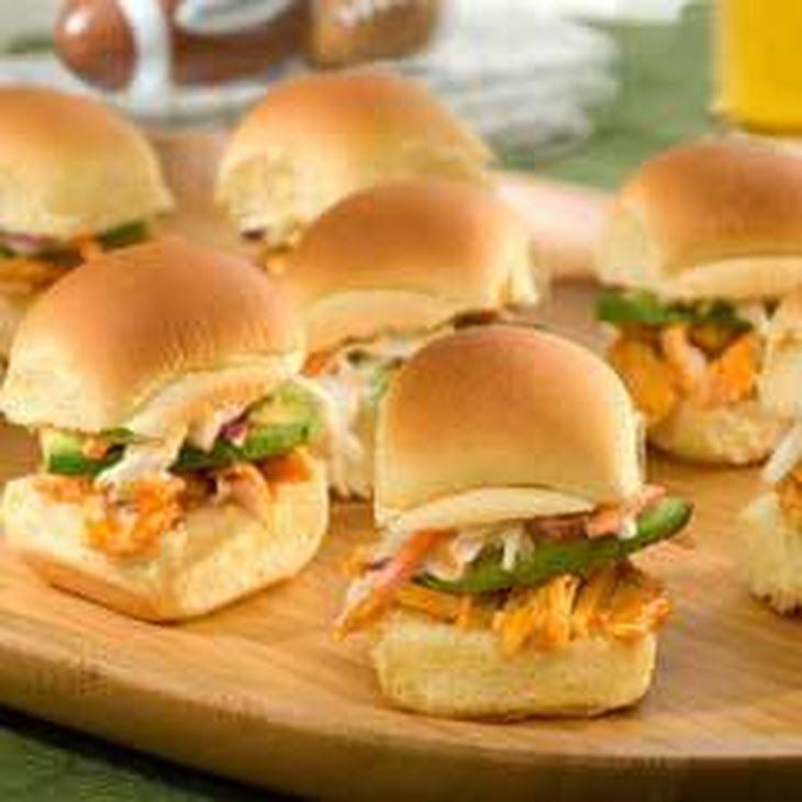 Buffalo Chicken Sliders Recipe Appetizers,
