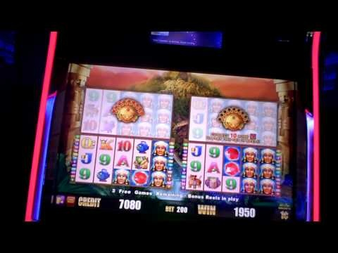 Rise of the Incas, slot machine, this machine LOVES me!