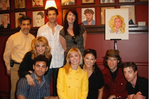 The Original Broadway Cast of Legally Blonde the Musical [2008-04-24] (Source: Broadwayworld.com)