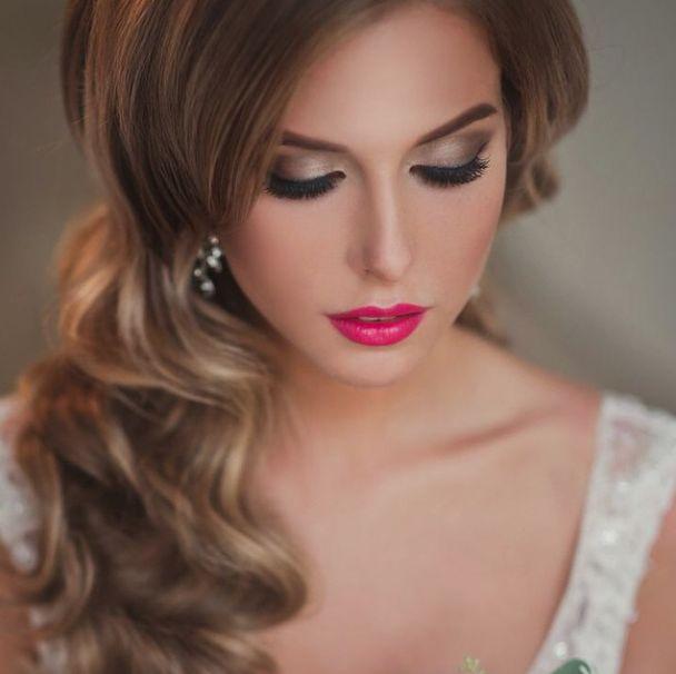 http://www.modwedding.com/2014/10/31/prettiest-wedding-hairstyles-rock-wedding-day/ #wedding #weddings #hairstyle via elstile