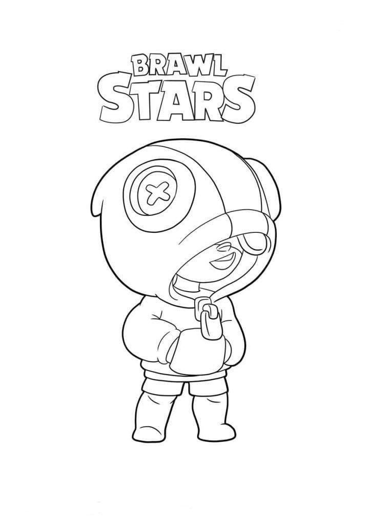 Brawl Stars Coloring Pages Leon Star Coloring Pages Drawing Tutorial Coloring Pages
