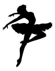 Resultado de imagen de bailarina dibujo silueta