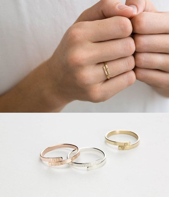 Hey, I found this really awesome Etsy listing at https://www.etsy.com/listing/476236732/simple-personalized-ring-gift-for