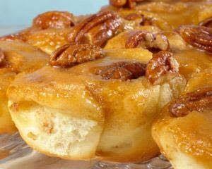 Aan Jeanne`s Keukentafel: Kaneel/Pecan Broodjes