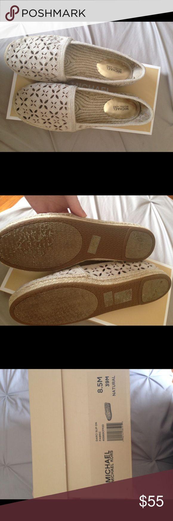 Michael Kors espadrilles Only worn a few times! Nude espadrilles! MICHAEL Michael Kors Shoes Espadrilles