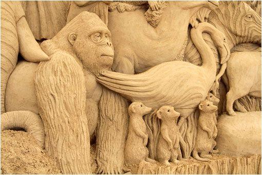 Museo de Esculturas de arena en Japón   LaReserva