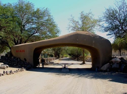 Entrance to Ai-Ais Hot Springs