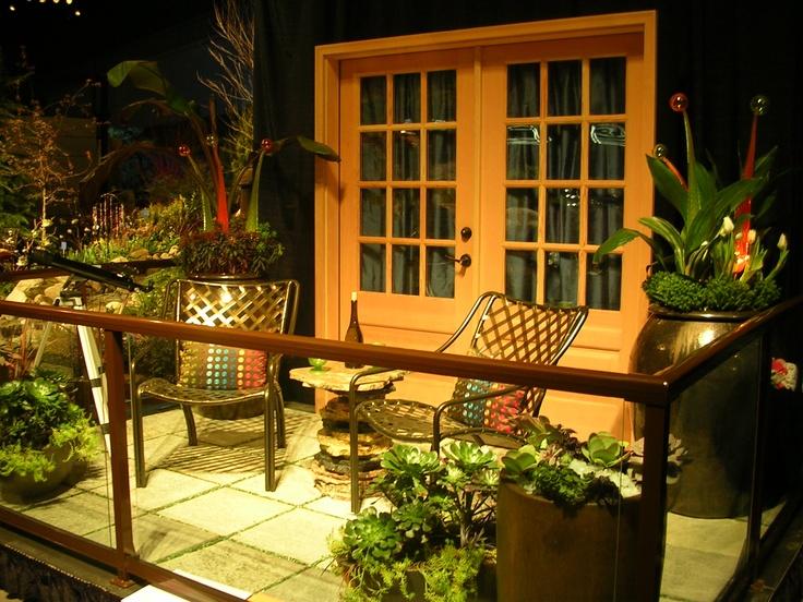 Natural balcony idea