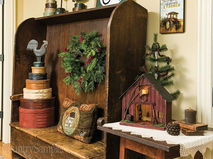 Country Sampler Christmas Decorating Ideas : Ideas about country sampler magazine on