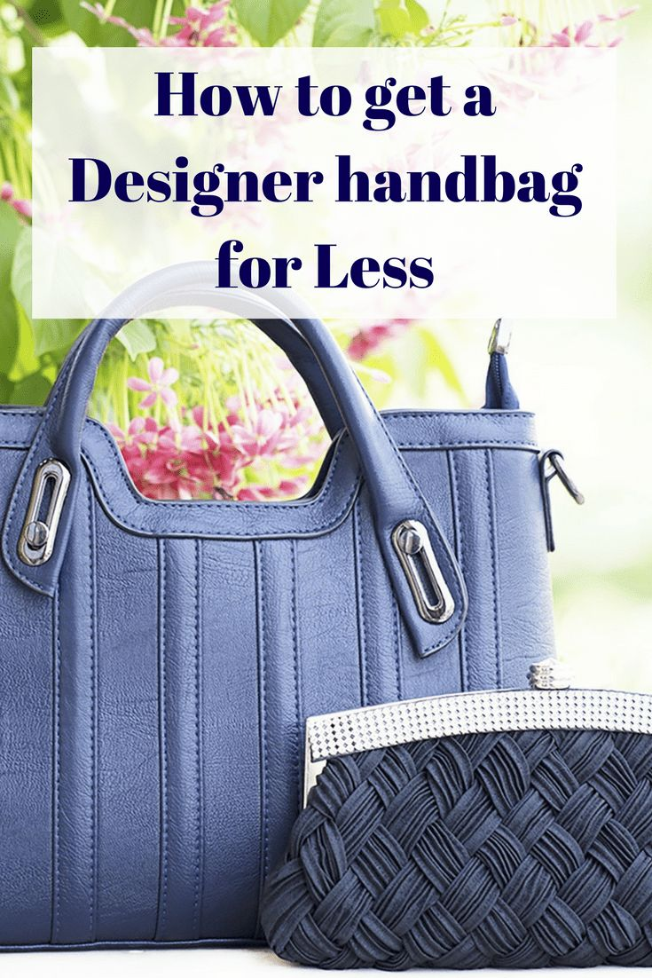 We all have our weaknesses and as long as we can afford it there's nothing wrong with the occasional treat - especially if we're getting the best price possible - read on to discover how to get a pricey designer handbag for much less than the RRP
