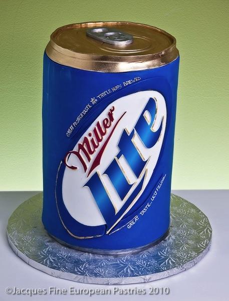 Miller-Lite Beer Cake