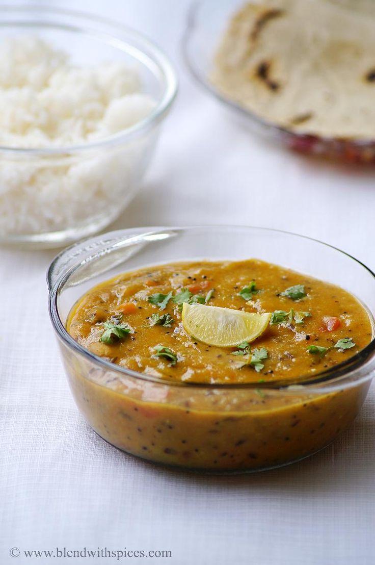 Gujarati Khatti Meethi Dal Recipe ~ Gujarati Recipes | Indian Cuisine
