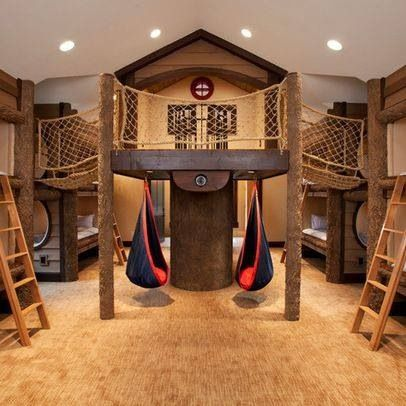 Great kids room that even I would never wanna leave. Lol