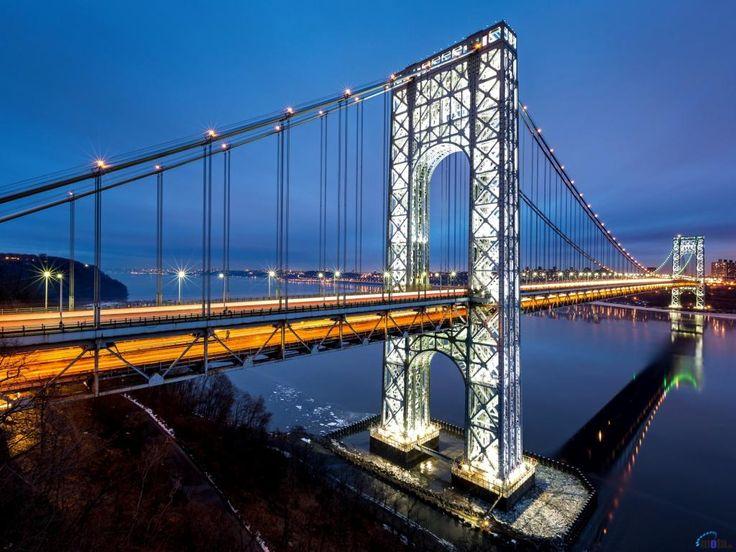 Мост Джорджа Вашингтона, США