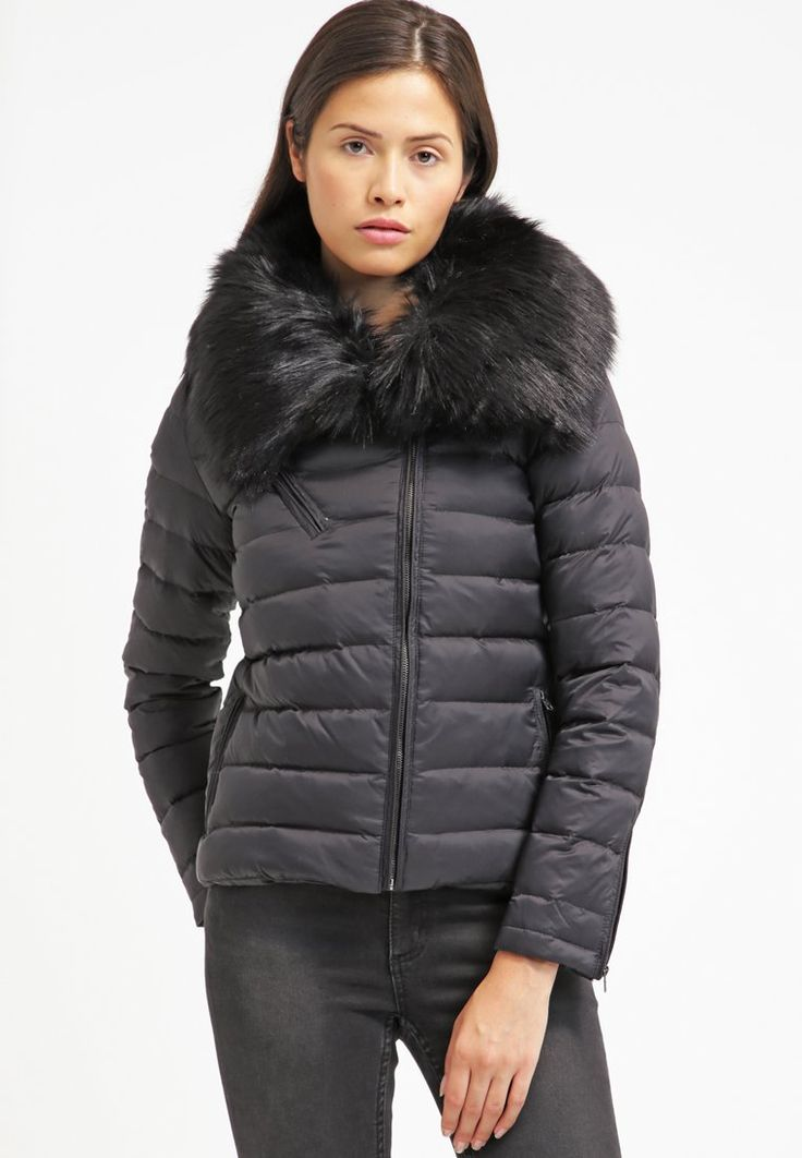 Schott NYC Down jacket - black for £148.00 (07/02/16) with free delivery at Zalando