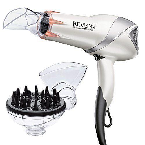 Professional Hair Dryer Infrared 1875 Watt Infared Technology Faster Hair Care #Revl