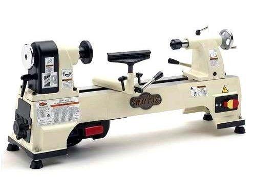 "(USA Warehouse) Shop Fox Benchtop Wood Lathe 10"" x 15.5"" 1/2 HP 6 Speeds 480-4023 RPM W1752 New -/PT# HF983-1754357256 | Benchtop Lathe Reviews"