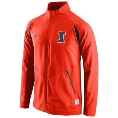 Illinois Fighting Illini Nike 2015-2016 On-Court HyperElite Dri-FIT Game  Jacket