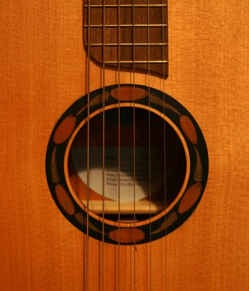 Roreka (Maori for sweet singing) guitar made from New Zealand native timber.  So few ever made... not another sound like it!