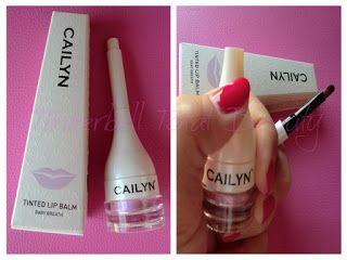 Tinkerbell Total Beauty......Il Blog di Trilly: Review Tinted Lip Balm by Cailyn