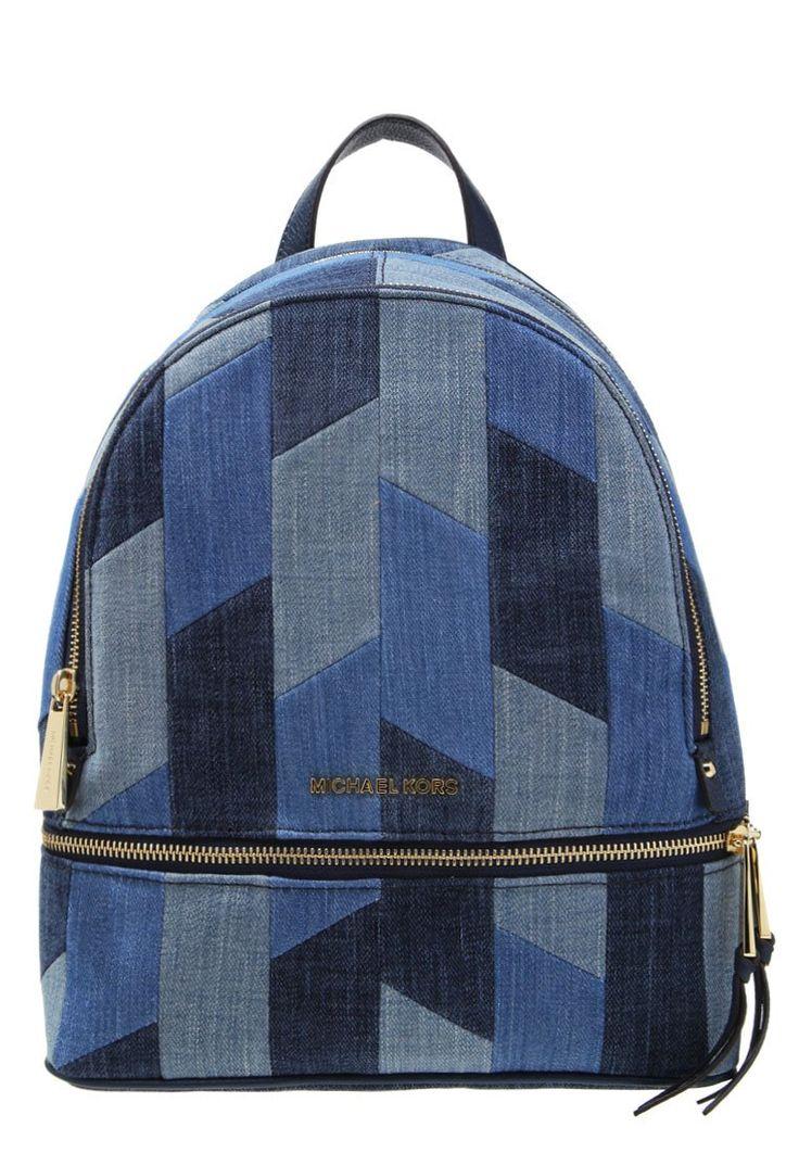 MICHAEL Michael Kors RHEA niebieski Plecak multi blue