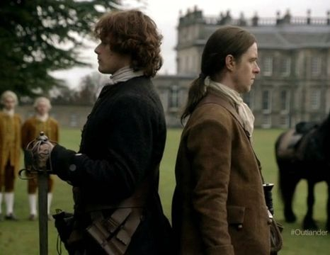 Jamie (Sam Heughan) in the new trailer for Outlander on Starz via http://outlander-online.com/2015/01/09/1200-screencaps-from-the-new-outlander-trailer/