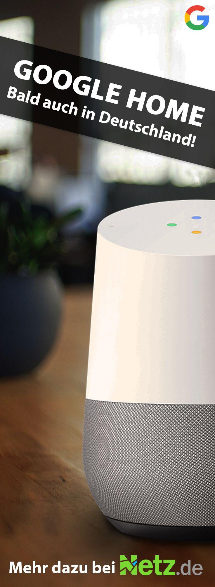 Google Home gibt es voraussichtlich demnächst auch in Deutschland! Wir sind gespannt. Mehr Infos auf Netz.de.