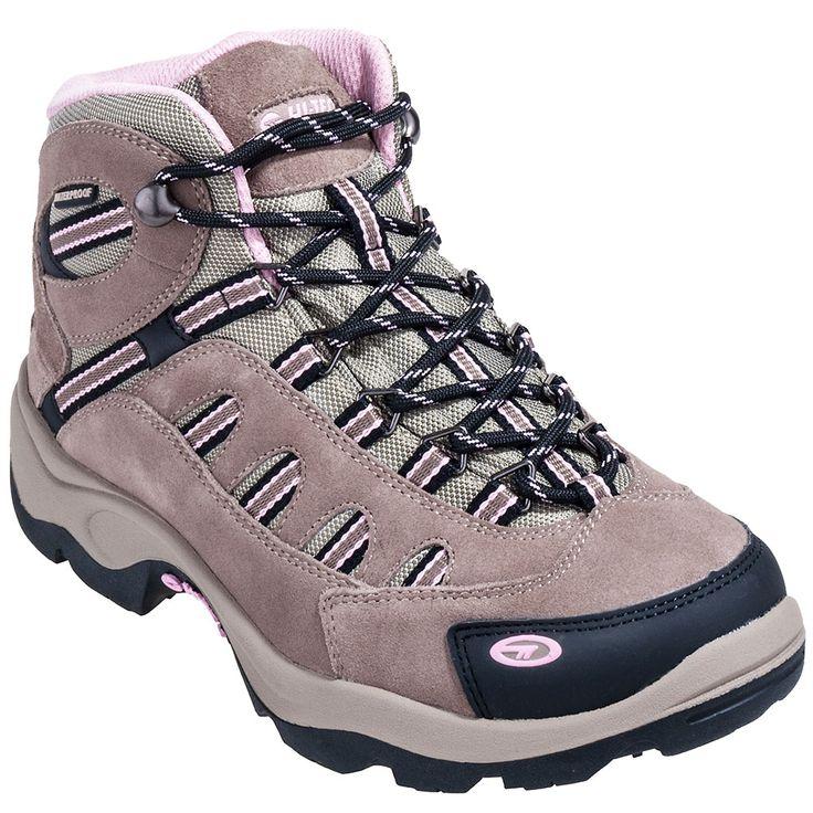 Hi-Tec Boots Women's Taupe 24045 Bandera Mid Waterproof Hiking Boots
