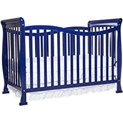 Dream On Me Violet 7-in-1 Convertible Life style Crib /Model:655-K /Royal Blue