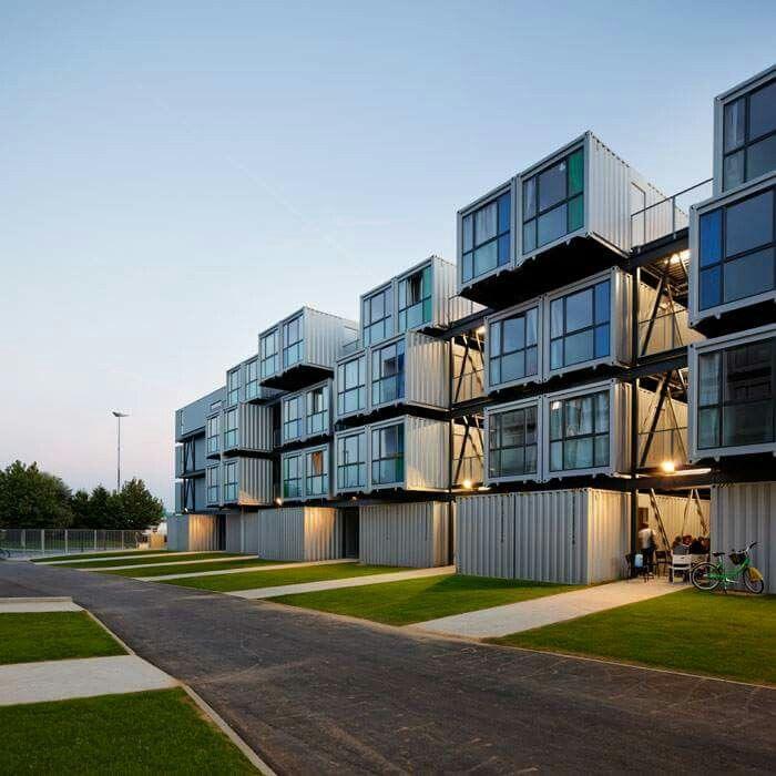595 besten container bilder auf pinterest | container-architektur ... - Container Architektur