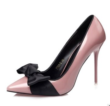 Cheap pointed toe pumps, Buy Quality women stilettos directly from China  pointed toe Suppliers: Elegant Style Woman Stiletto Big Butterfly-Knot  Decoration ...