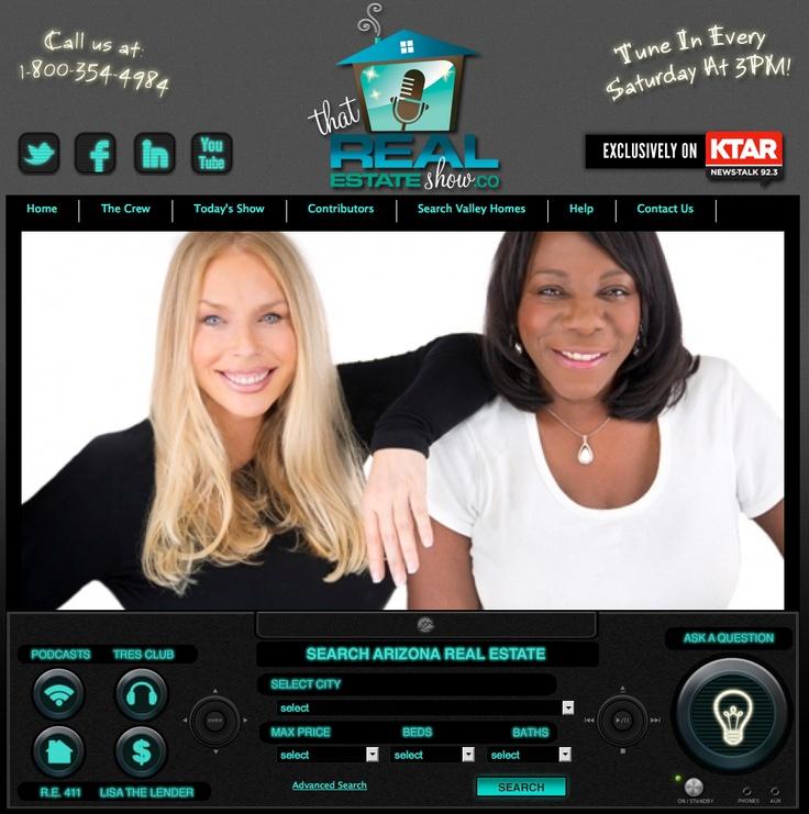 Listen to Realtor Diane Brennan o That Real Estate Show every Saturdayat 3pm on 92.3 FM KTAR