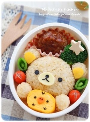 キャラ弁*リラックマおにぎり レシピ・作り方 by Mai*Mai|楽天レシピ