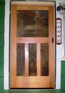 Inspirational Entry Door with Built In Screen
