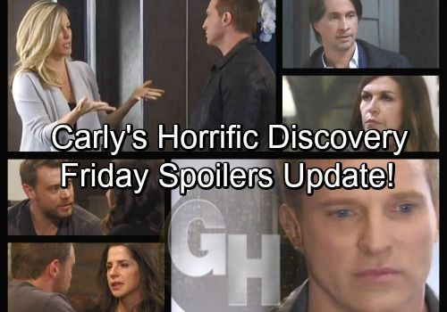 General Hospital Spoilers Friday March 23 Update Carly S Horrific Discovery Sam Devastates Drew Jason Seeks Out Spinelli General Hospital Spoilers General Hospital Soap News