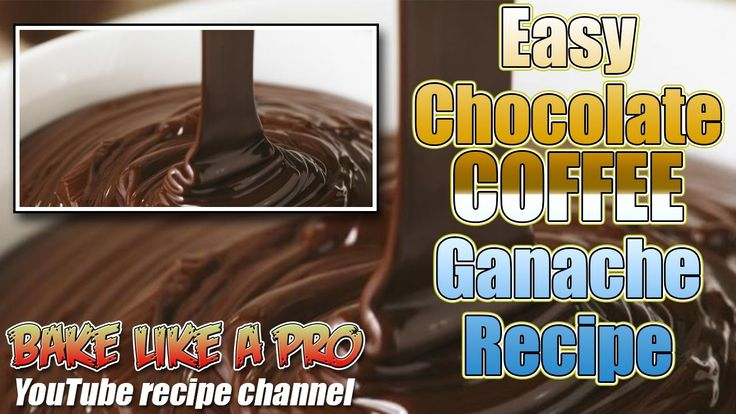Easy Chocolate Coffee Ganache Recipe