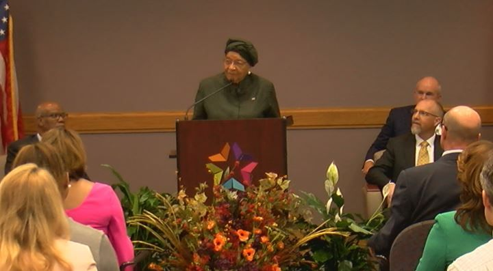 Liberia's first female president visits Columbus - WTVM.com-Columbus, GA News Weather & Sports