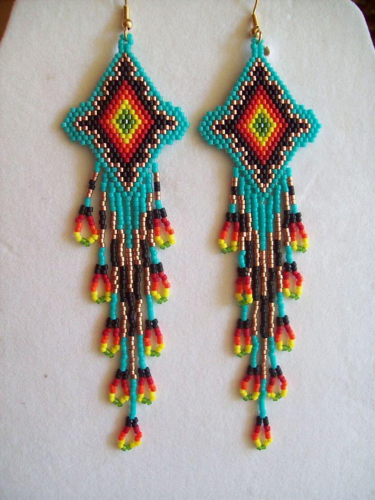 Beautiful Native American Beaded Turquoise by BeadedCreationsetc