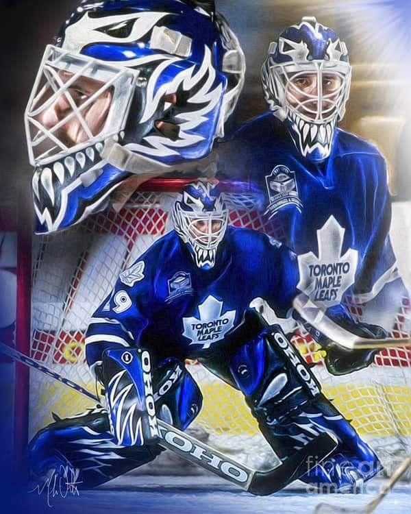 The Cat Maple Leafs Hockey Toronto Maple Leafs Hockey Hockey Goalie