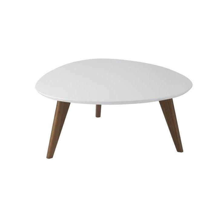 Table basse Fostine blanc