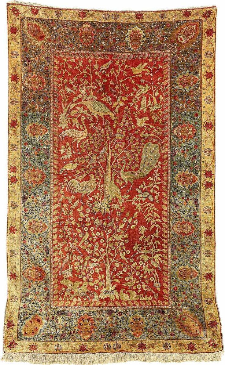 Wishful thinking.....Turkish Rugs: Hereke Silk Carpet Circa 1900