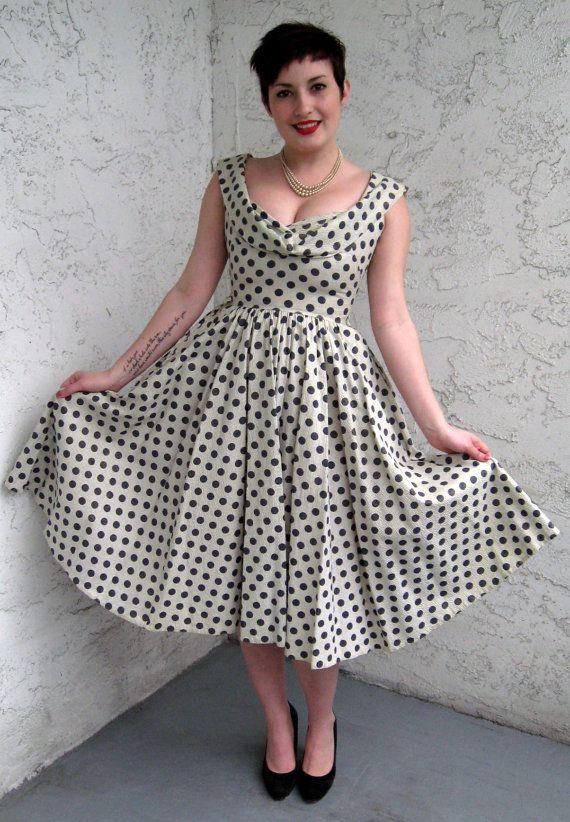 http://www.etsy.com/listing/95214773/50s-polka-dot-day-dress-in-white-gold