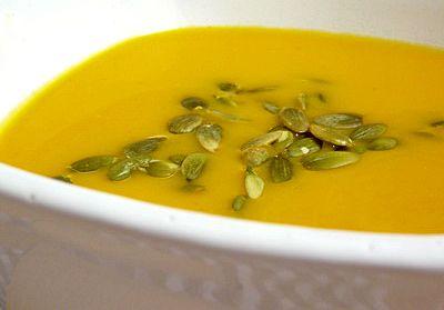 Fűszeres sárgarépa krémleves