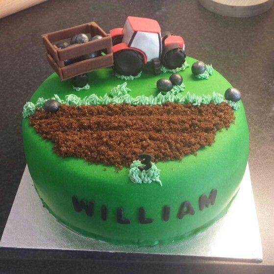 Tårta traktor