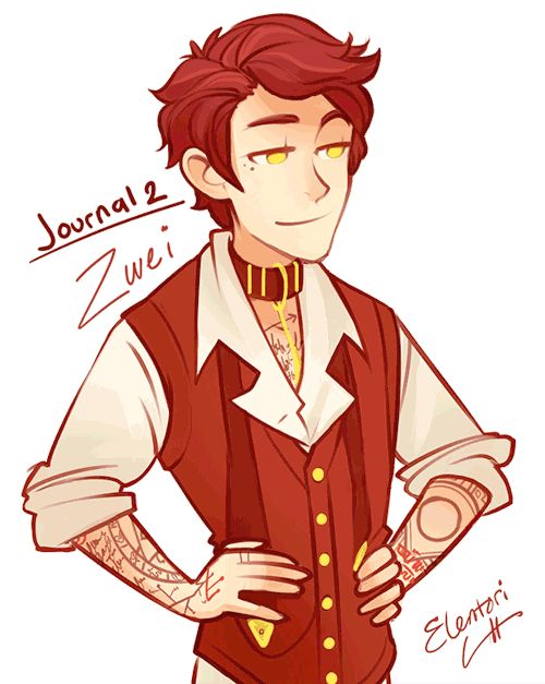 Humanized Journal 2, you can find 1 here. 3 will be complete soon! They've been named Eins, Zwei and Drei.